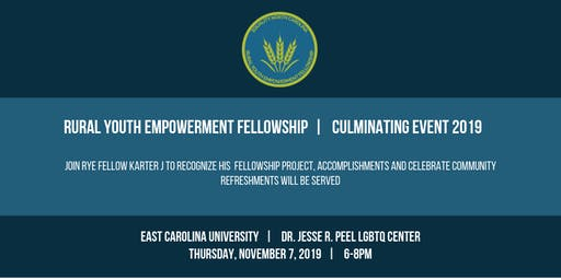 RYE Fellowship Culminating Event - East