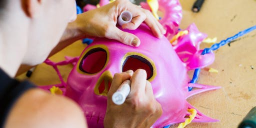 Day of the Dead Carnival Masks & Decorations Family Workshop