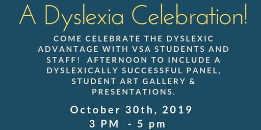 A Dyslexia Celebration