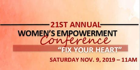FIX YOUR HEART- WOMEN'S EMPOWERMENT CONFERENCE tickets