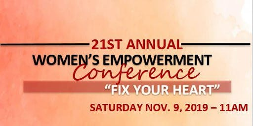 FIX YOUR HEART- WOMEN'S EMPOWERMENT CONFERENCE