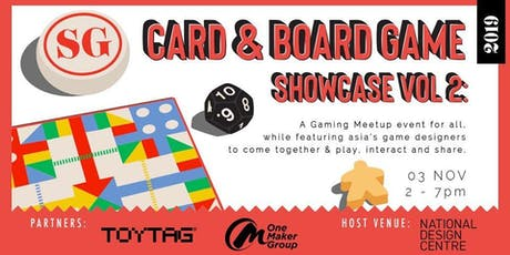SG Card & Board Game Showcase Vol 2 tickets