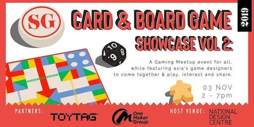 SG Card & Board Game Showcase Vol 2