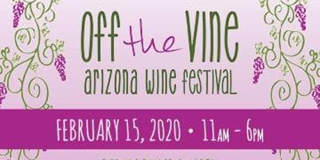 Off the Vine Arizona Wine Festival 2020 tickets