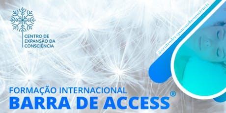 Formação Internacional em  Barra de Access® Alphaville - SP ingressos