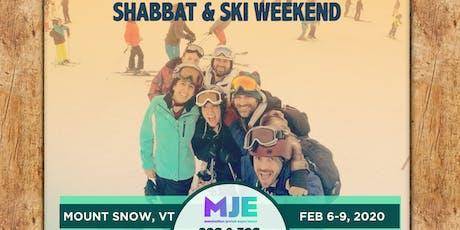 MJE 20s & 30s Winter Retreat 2020: Shabbat & Ski Weekend in Mount Snow, Vermont tickets