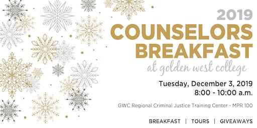 2019 High School Counselor Breakfast