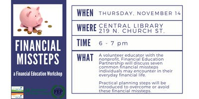 Financial Missteps: A Financial Education Workshop