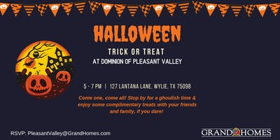 Halloween ***** or Treat at Dominion