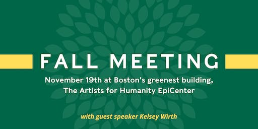 Green Energy Consumers Alliance Fall Meeting