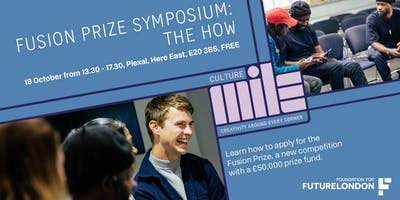 Fusion Prize October Symposium: THE HOW