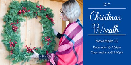 Christmas Evergreen Square Wreath Class tickets