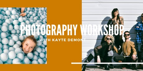 Photography Workshop | Level up your game working with models tickets