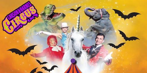 Carson & Barnes Circus Big Top Monster Mash - Hugo, OK Hometown Special