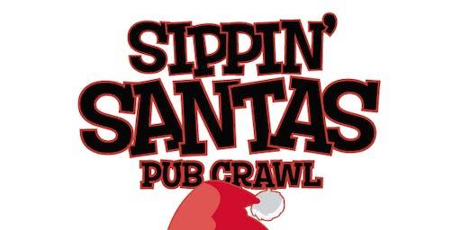 Sippin' Santas Pub Crawl