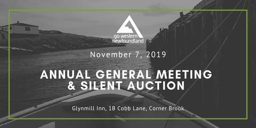 Go Western Newfoundland - Annual General Meeting, Luncheon & Silent Auction