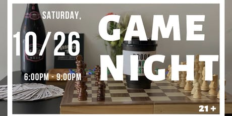 Fall Adult Game Night tickets