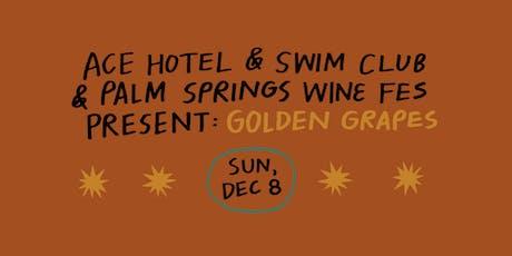 Golden Grapes Wine Festival tickets