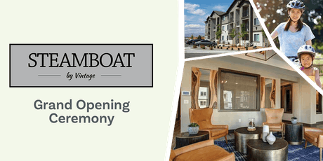 Grand Opening for Steamboat by Vintage  tickets