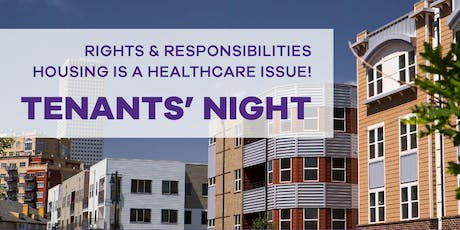 Tenants' Night: Rights and Responsibilities tickets