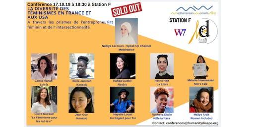 La diversité des féminismes en France et aux USA -