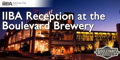IIBA Reception at the Boulevard Brewery