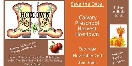 Calvary Preschool Harvest Hoedown! tickets