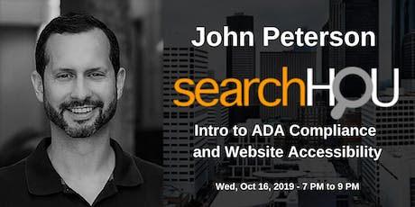Intro to ADA Compliance and Website Accessibility - John Peterson tickets