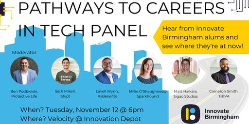 Pathways To Careers In Tech Panel