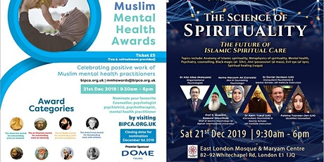The Science of Spirituality and Muslim Mental Health Awards tickets