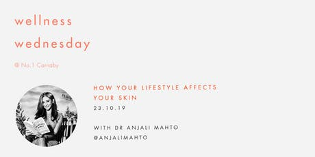 Wellness Wednesday by Sweaty Betty: How your lifestyle affects your skin tickets