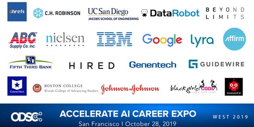 ODSC Career Lab & Expo - The Largest Data Science and AI Career Expo of 2019