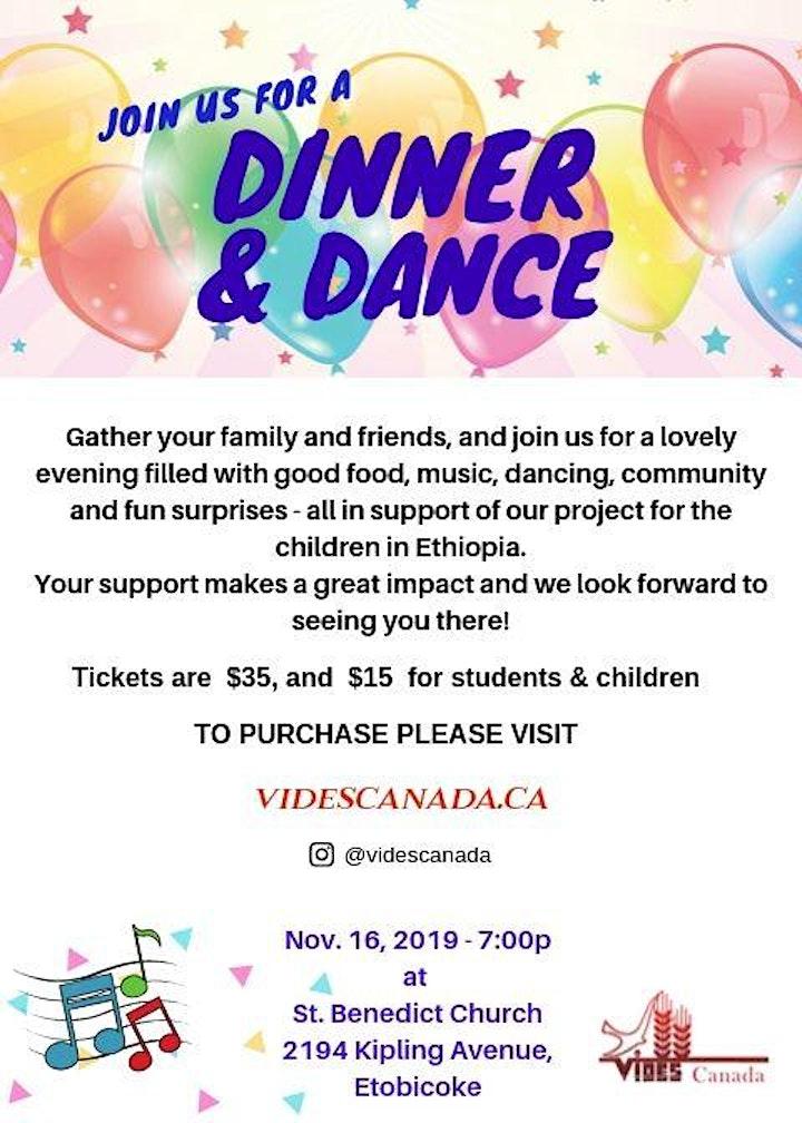VIDES Canada Dinner Dance Fundraiser 2019 image