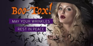 Boo-tox Party!!!  Scare your wrinkles away!