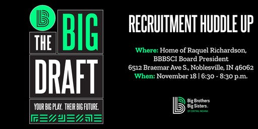The Big Draft: Recruitment Huddle Up