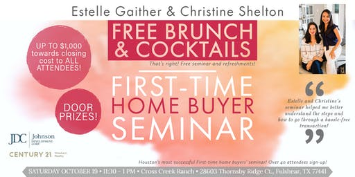 Free seminar - First-time home buyers