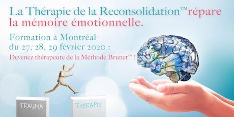 Thérapie de la Reconsolidation™ : fondements et pratique - MONTRÉAL billets