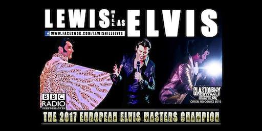 Elvis Tribute - Lewis Hill