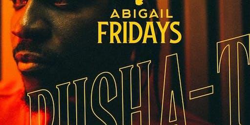 Howard Homecoming Abigail Fridays with ThoseGuyz: Hosted by Pusha-T