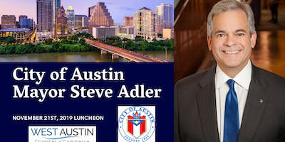 West Austin Chamber luncheon featuring Mayor Steve Adler