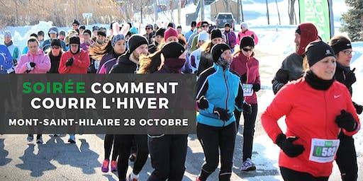 Soirée Comment Courir l'hiver - Mont-St-Hilaire
