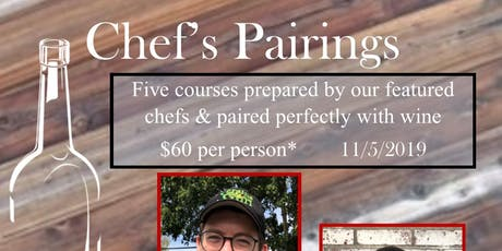 Chef's Pairings at G&G tickets