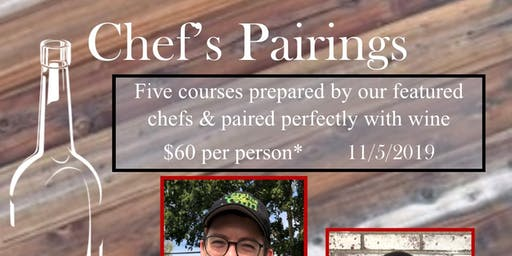 Chef's Pairings at G&G