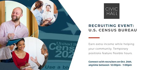 Recruitment Event: U.S. Census Bureau tickets