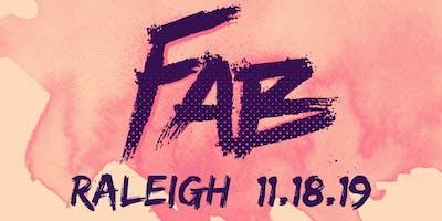 Raleigh FAB Pop Up