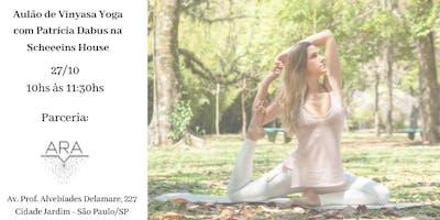 Aulão de Vinyasa Yoga com Patrícia Dabus