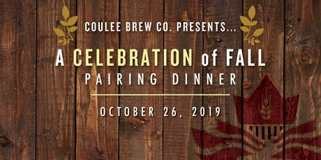 A Celebration of Fall Pairing Dinner tickets
