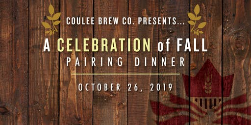 A Celebration of Fall Pairing Dinner
