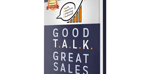 Good T.A.L.K. Great Sales Book Signing Event with author Robert Paolini