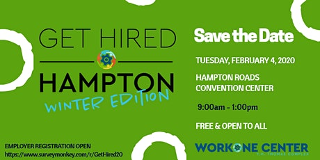 Get Hired Hampton 'Winter Edition' tickets